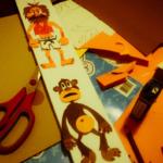 El naufrago y el mono - animación stopmotion