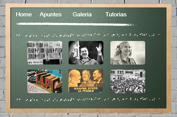 The Peronism e-learning