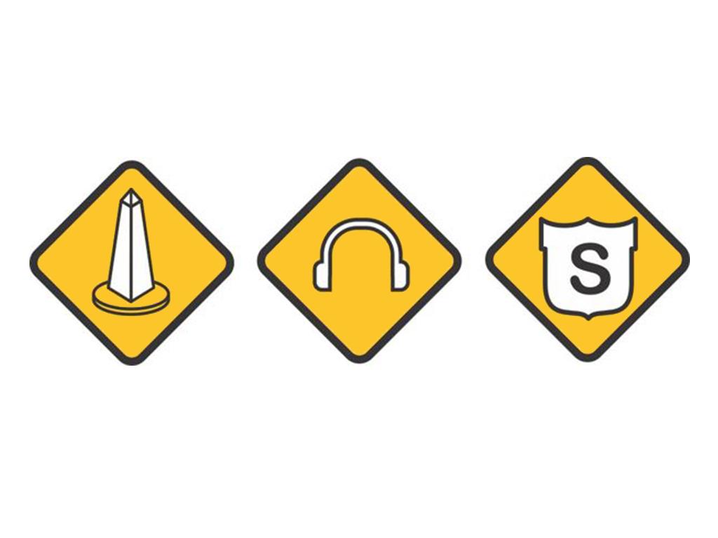 Diseño de iconos / iconografía para la aplicación móvil de TaxiBip