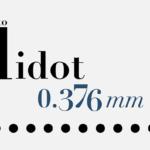 Muestrario tipográfico Familia Didot
