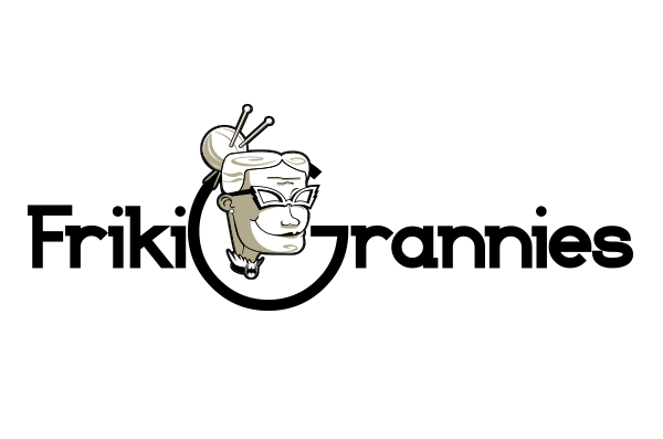 Diseño de logotipo Frikigrannies