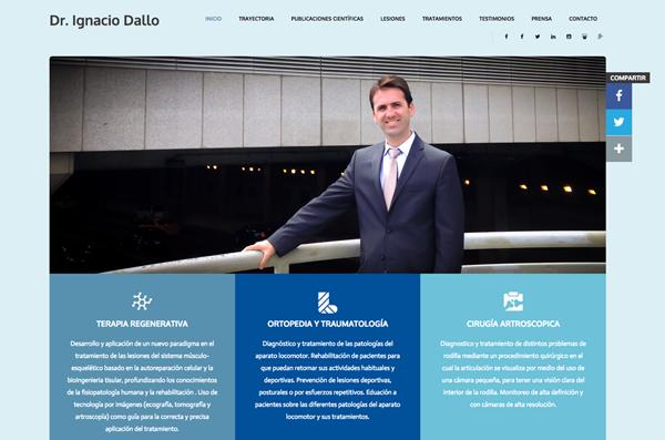 Dr. Ignacio Dallo Web