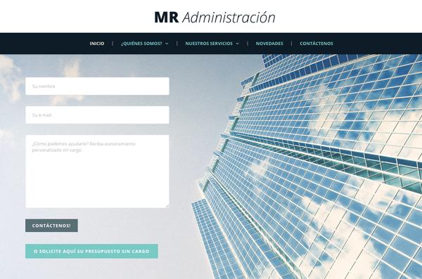 M.R. Administration Web