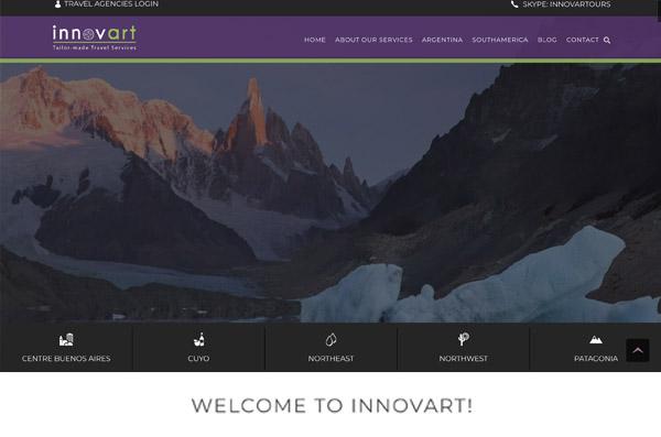 Innovart Tours e-commerce
